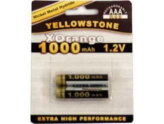 Ceruza (mini) akkumulátor AAA Ni-MH 1,2V 1000 mAh 2db!!