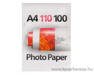 100 lap A4-es 110g Premium Matt papír