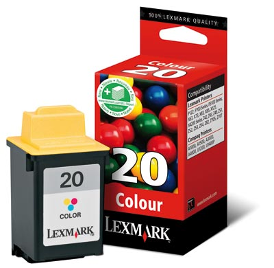 Lexmark tintapatron 15MX120E Lexmark Z51 tintasugaras nyomtatóhoz
