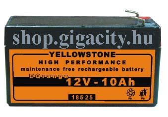 Zselés akkumulátor 12V ? 1,2 Ah