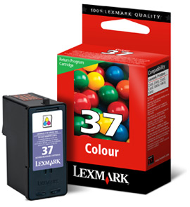 Lexmark tintapatron 18C2140 (No. 37) Lexmark Z2420 tintasugaras nyomtatóhoz