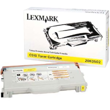 Lexmark Toner 20K0502 yellow