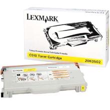 Lexmark Toner 20K0502 yellow Lexmark C510 lézernyomtatóhoz