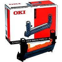 Oki 41962808 dobegység fekete (C 7100) Oki C7100 lézernyomtatóhoz