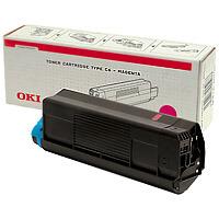 Oki 42804506 toner Magenta (C 5200) Oki C5200 lézernyomtatóhoz