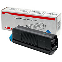 Oki 42804507 toner Cyan (C 5200) Oki C5400 lézernyomtatóhoz