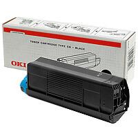 Oki 42804508 toner fekete (C5200/C5400) Oki C5200 lézernyomtatóhoz