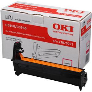 Oki 43870022 dobegység Magenta (C5850, C5950) Oki MC560 lézernyomtatóhoz