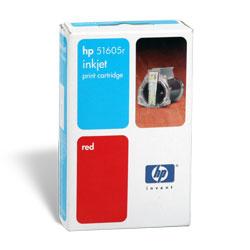 HP 51605R piros tintapatron