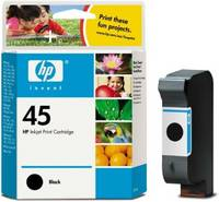 HP 51645A Bk (No. 45) tintapatron HP Deskjet 1220 tintasugaras nyomtatóhoz