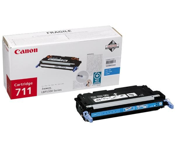 Canon Cartridge 711 Cyan lézertoner Canon LBP 5300 lézernyomtatóhoz