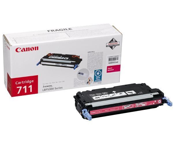 Canon Cartridge 711 Magenta lézertoner Canon LBP 5300 lézernyomtatóhoz