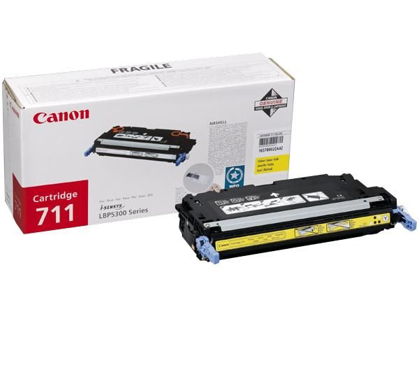 Canon Cartridge 711 Yellow lézertoner