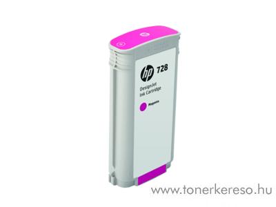 HP DesignJet T730/T830 (728) eredeti magenta tintapatron F9J66A HP DesignJet T830 MFP  tintasugaras nyomtatóhoz