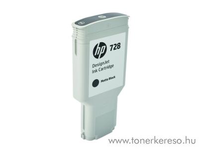 HP DesignJet T730/T830 (728) eredeti matte black patron F9J68A HP DesignJet T830 MFP  tintasugaras nyomtatóhoz
