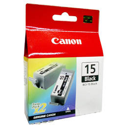 Canon BCI 15 Bk tintapatron Canon PIXMA iP90v tintasugaras nyomtatóhoz