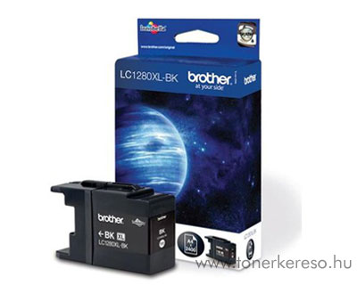Brother LC1280XL Bk tintapatron Brother MFC-J6510DW tintasugaras nyomtatóhoz