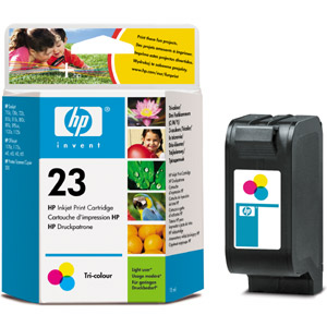 HP C1823D Color (No. 23) tintapatron HP OfficeJet R40 tintasugaras nyomtatóhoz