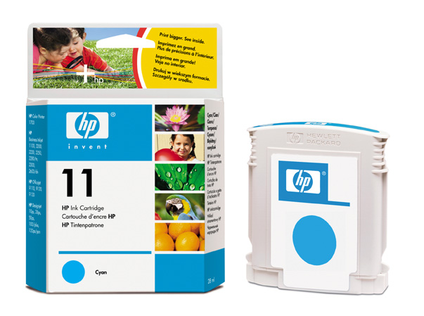 HP C4836 C (No. 11) tintapatron HP DesignJet 10ps tintasugaras nyomtatóhoz