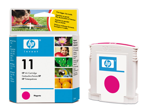 HP C4837 M (No. 11) tintapatron HP DesignJet 120 tintasugaras nyomtatóhoz