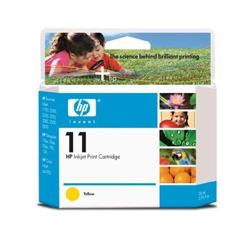 HP C4838 Y (No. 11) tintapatron HP DesignJet 111  tintasugaras nyomtatóhoz