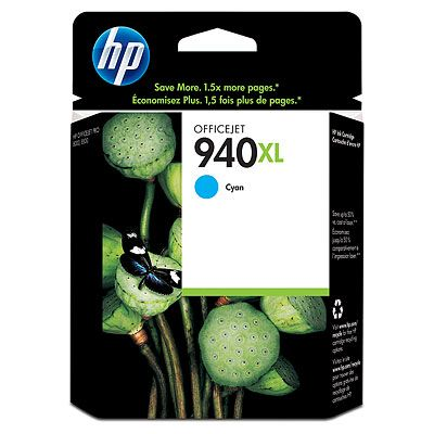 HP C4907AE (No. 940XL) cyan tintapatron HP Officejet Pro 8000 tintasugaras nyomtatóhoz