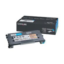 Lexmark toner C500H2CG cyan Lexmark C500 lézernyomtatóhoz