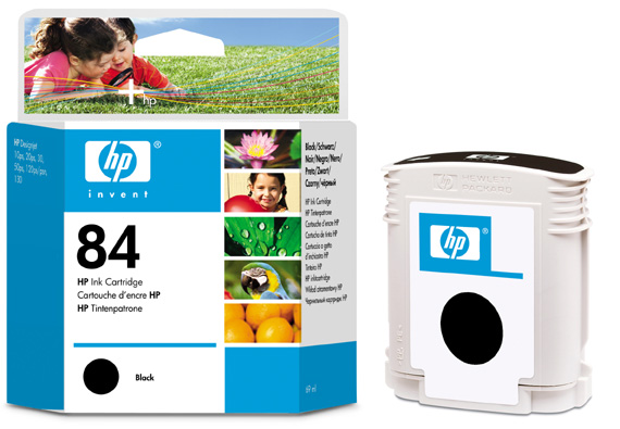 HP C5016A (No. 84) Bk tintapatron HP DesignJet 50ps tintasugaras nyomtatóhoz
