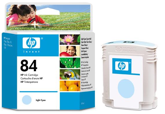 HP C5017A (No. 84) LC tintapatron HP DesignJet 10ps tintasugaras nyomtatóhoz