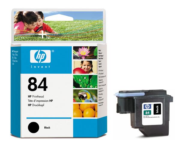 HP C5019A (No. 84) Bk nyomtatófej HP DesignJet 130nr tintasugaras nyomtatóhoz