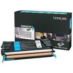Lexmark Toner C5240CH cyan Lexmark C524 lézernyomtatóhoz