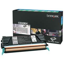 Lexmark Toner C5240KH fekete Lexmark C524 lézernyomtatóhoz