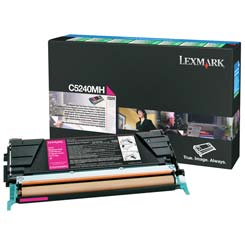 Lexmark Toner C5240MH magenta Lexmark C524 lézernyomtatóhoz