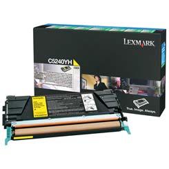 Lexmark Toner C5240YH yellow Lexmark C524 lézernyomtatóhoz