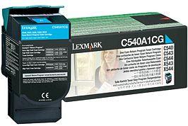 Lexmark Toner C540A1CG cyan Lexmark X543 lézernyomtatóhoz