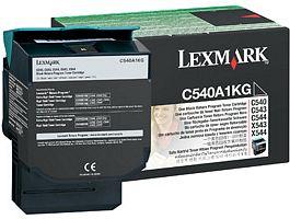 Lexmark Toner C540A1KG fekete Lexmark C546 lézernyomtatóhoz