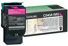 Lexmark Toner C540A1MG magenta Lexmark C546 lézernyomtatóhoz