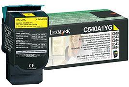 Lexmark Toner C540A1YG yellow Lexmark C543 lézernyomtatóhoz