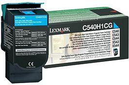 Lexmark Toner C540H1CG cyan Lexmark C543 lézernyomtatóhoz