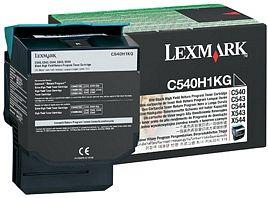 Lexmark Toner C540H1KG fekete Lexmark C543 lézernyomtatóhoz