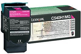 Lexmark Toner C540H1MG magenta Lexmark C543 lézernyomtatóhoz