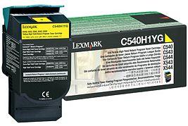 Lexmark Toner C540H1YG yellow Lexmark X543 lézernyomtatóhoz