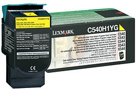 Lexmark Toner C540H1YG yellow Lexmark C544 lézernyomtatóhoz