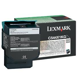 Lexmark Toner C544X1KG fekete Lexmark C544 lézernyomtatóhoz