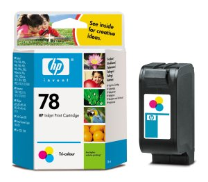 HP C6578AE (No. 78) tintapatron nagykapacitású HP Deskjet 970 tintasugaras nyomtatóhoz