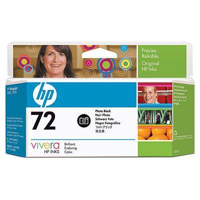 HP C9370A (No. 72) PhotoBk tintapatron HP Designjet T1100 tintasugaras nyomtatóhoz
