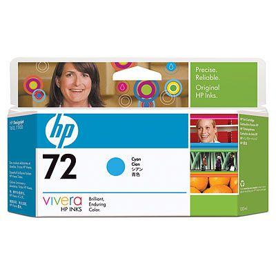HP C9371A (No. 72) Cyan tintapatron HP Designjet T1120 tintasugaras nyomtatóhoz