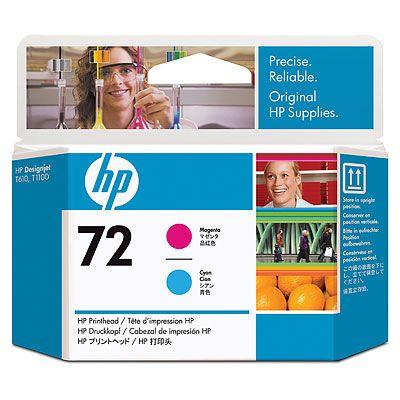 HP C9383A (No. 72) Magenta / Cyan nyomtatófej HP Designjet T1100 tintasugaras nyomtatóhoz