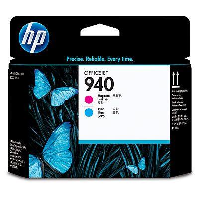 HP C4901A (No. 940) Magenta - Cyan nyomtatófej HP Officejet Pro 8000 tintasugaras nyomtatóhoz
