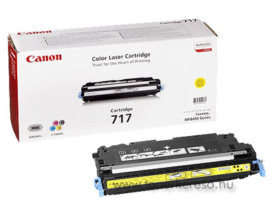 Canon Cartridge 717 Yellow lézertoner